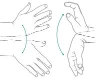 Движения в лучезапястном суставе начинают с первого дня с момента операции